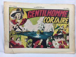 """Récit Complet, Collection """"Les Belles Aventures"""", Gentilhomme Corsaire - Magazines Et Périodiques"""