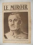 Le Miroir Guerre 1914/1918> Journal N°157 > 26.11.1916 >Général Nivelle,tranchées Allemandes Dans La Somme, - Oorlog 1914-18