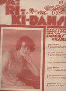 Partition Grand Format  :Paris Ki Danse (avec Mistinguett) 1919 (MPA D 033) - Partitions Musicales Anciennes