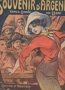 Partition Grand Format  :Souvenir D4Argentine (couv Armengol) 1913 (MPA D 034) - Partitions Musicales Anciennes