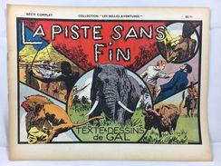 """Récit Complet, Collection """"Les Belles Aventures"""", La Piste Sans Fin - Magazines Et Périodiques"""