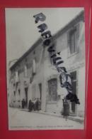 Cp Monesties Bureau De Poste Et Hotel Calvignac Animé - Monesties