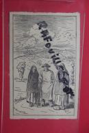 Cp Castres Anciens Costumes Montagnards Capetos Et Brisaout Tampon Journee Du Timbre - Monesties
