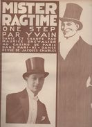 Partition Grand Format  :Mister Ragtime  1920 (MPA D 036) - Partitions Musicales Anciennes