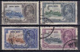 HONG-KONG 1935 Nº132/35 USADO - Used Stamps
