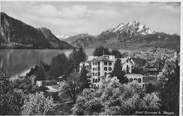 WEGGIS - Hotel Baumen, Feldpost FLIEGERABWEHR DET.55, Ca.1945 - LU Luzern