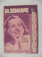 La Semaine Radiophonique N°14 > 4.4.1948 > Aimée Valrèze & Pierre Pat > France & étranger 26 Pages - History