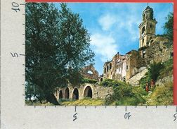 CARTOLINA VG ITALIA - BUSSANA VECCHIA (IM) - Distrutta Dal Terremoto - 10 X 15 - ANN. 1986 - Imperia