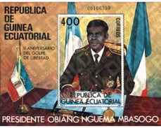 Ref. 37642 * MNH * - EQUATORIAL GUINEA. 1981. PRESIDENT OBIANG NGUEMA MBASOGO . PRESIDENTE OBIANG NGUEMA MBASOGO - Famous People