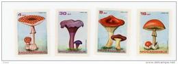 Mozambique-1986-Champignons-YT 1029/32***2 BLOCS DE 4 - Mozambique
