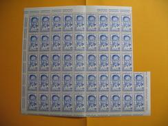 Tunisie  Lot De  Timbre En Feuille Avec  Coin Daté   1960 - 1961 N° 502/503/504 Et 540   Neuf ** - Tunisia