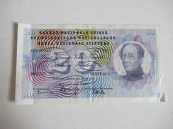 Suisse 20 Francs - Suiza