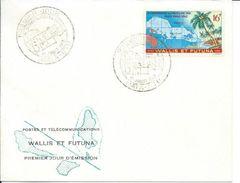 ZWFFDC1962 - WALLIS ET FUTUNA FDC 1962 - FDC Premier Jour - 5ème Conférence Du Pacifique Sud PAGO-PAGO 1962 - Wallis And Futuna