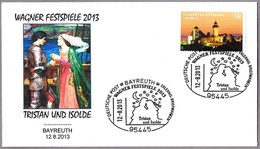 Festival WAGNER 2013. Opera TRISTAN E ISOLDA. Bayreuth 2013 - Music