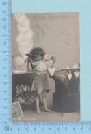 Fillette - Fillette Forgeron Fabriquant Des Coeurs, Cover Murray Bay 1907  CPA Carte Postale Post Card - Portraits