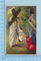 Via Crucis - Germany, G.G.K. No 1325/VI - Fini Glacé CPA Carte Postale Post Card - Christianisme