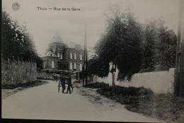 Thuin - La Rue De La Gare - Thuin