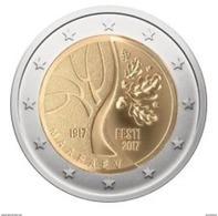 Estland  2017     2 Euro Commemo   Onafhankelijkheid - Indépendence       UNC Uit De Rol  UNC Du Rouleaux  !! - Estonie