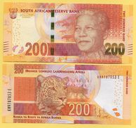 South Africa 200 Rand P-142 2016 Sign. Kganyago UNC - Sudafrica