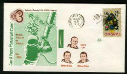 ETATS-UNIS  ESPACE , DE TRES  BELLE , OBLITERATION  DIVERS  SUR  CETTE ENVELOPPE  DU  26  DECEMBRE  1973  , A  SAISIR - FDC & Commémoratifs