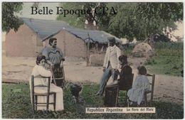 Argentina - La Hora Del Mate / Colorisée ++++++ Vers Paris, 1910 +++++++ - Argentine