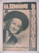 La Semaine Radiophonique N°36 > 8.9.1948 > Gisèle Parry > France & étranger + Pub Anciennes - 18 Pages - History