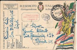 FRANCHISE MILITAIRE TRIPOLI LIBIA LYIBIA A ROMA 1920 FRANCHIGIA MILITARE - Libië