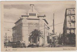 CPA:   ORAN  (algérie):    Maison Du Colon.   (D1802) - Oran