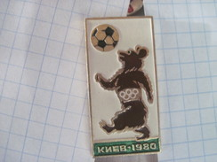 USSR Russia Moscow - 80 Olympics Football Tournament In Kyiv - Olympic Games