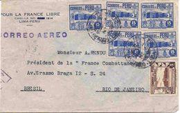 Lettre Du Pérou - Kolumbien