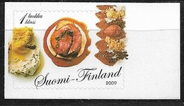 FINLAND 2009 EASTER FOOD SELF ADHESIVE  MNH - Unused Stamps