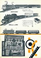 Ancienne Publicite (1962) : MECCANO, HORNBY-HO, Boite, Train électrique, L'Aquilon, Le Picard, Le Basque, Transformateur - Publicités