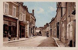 LES AIX D ANGILLON RUE DE LA REPUBLIQUE - Les Aix-d'Angillon