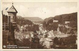 -ref V439- Luxembourg - Faubourg Du Pfaffenthal *  - Carte Bon Etat  - - Postcards