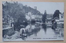 CPA MONTBARD Le Coin Des Laveuses - Montbard