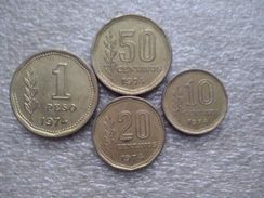 Argentina 10 Centavos - 1 Peso(Peso Ley) 1974 - Argentina