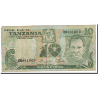 Tanzania, 10 Shilingi, 1978, KM:6a, TB - Tanzanie