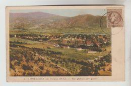 CPSM CHATEAU ARNOUX SAINT AUBAN (Alpes De Haute Provence) - SAINT AUBAN : Vue Générale 1° Partie - Francia