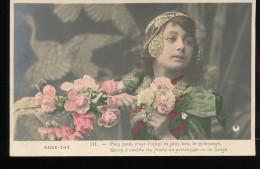Rose - The -- 4 Cartes - Femmes