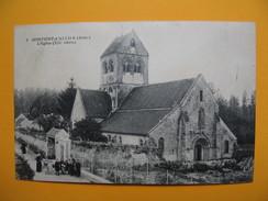 CPA  - Montigny-l'Allier - L'Eglise (XII ème Siècle) 1917 - Otros Municipios