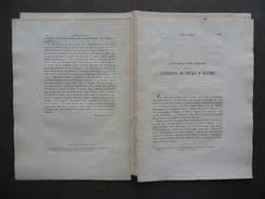 Alcune Vecchie E Nuove Osservazioni Cantilena Di Ciullo D'Alcamo Galvani 1870 - Vecchi Documenti
