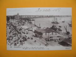 CPA  - Bordeaux Les Quais Vue Prise Des Douanes  30/10/1918 - Commerce