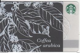 CANADA - Coffea Arabica, Starbucks Card, CN : 6103, Unused - Gift Cards