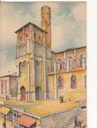 BARDAY -  ALBI...L' EGLISE SAINT SALVI...3122 B....CPSM  PETIT  FORMAT - Barday