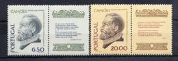 PORTUGAL1980.CAMOES: POESIA E VERDADE  AFINSA Nº  Nº 1470/1471  NOVOS SEM CHARNEIRA CECI 2 Nº 89 - 1910-... República