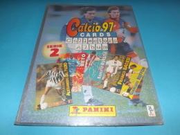Calcio 97 Cards SERIE 2 Album Completo Di Tutte Le Cards Calciatori Panini - Panini