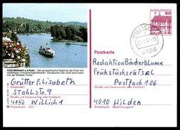 83091) BRD - P 138 - Q8/92 - OO Gestempelt - 4330 Mülheim, Weiße Flotte - BRD