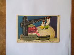 JUS DE RAISIN CHALLAND S.A. A NUITS St GEORGES CÔTE D'OR J.ZOUCHET TOUT LE SOLEIL DE L'ETE 14cm/9cm - Documentos Antiguos