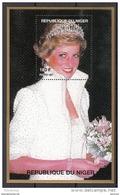 945b Niger 1997 Principessa Princess Of Wales Lady Diana Con Fiori E Corona Sheet Nuovo  MNH - Niger (1960-...)