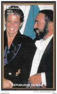 944b Niger 1997 Principessa Princess Of Wales Lady Diana Tenore Luciano Pavarotti Nuovo MNH - Niger (1960-...)